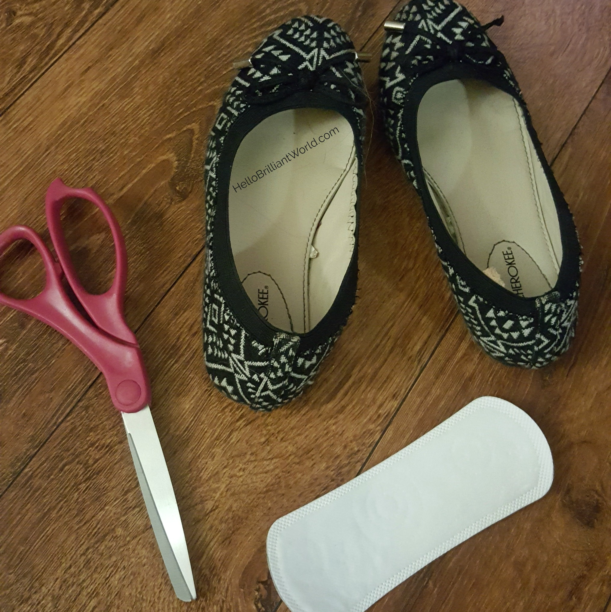 Save the Heel - Life Hack - what you need