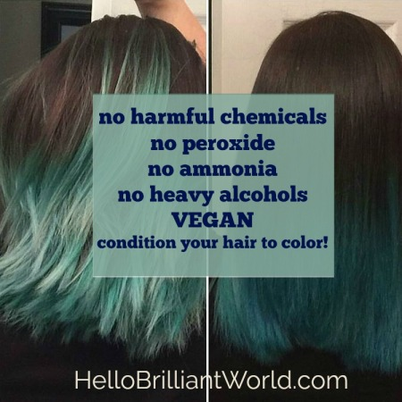 Condition your hair to color